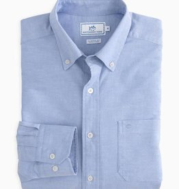SOUTHERN TIDE CHANNEL MARKER OXFORD SPORT SHIRT