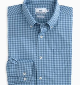 SOUTHERN TIDE CAUSEWAY GINGHAM INTERCOASTAL SPORT SHIRT