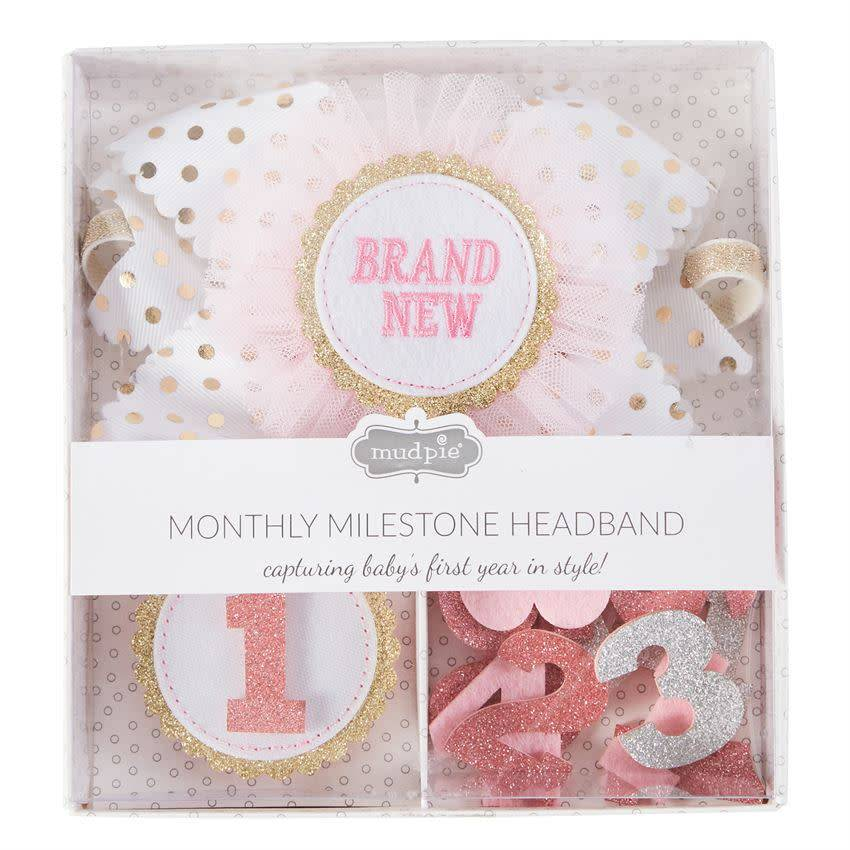 MUD PIE MILESTONE HEADBAND