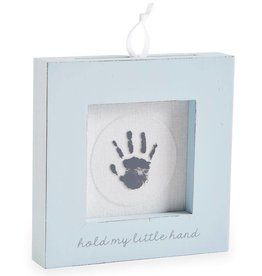 MUD PIE HAND AND FOOT PRINT FRAME- WHITE