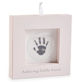 MUD PIE HAND AND FOOT PRINT FRAME- PINK