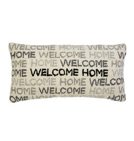 MUD PIE WELCOME HOME HOOKED PILLOW
