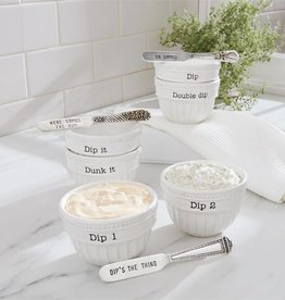 MUD PIE STACKED DIP CUP SETS