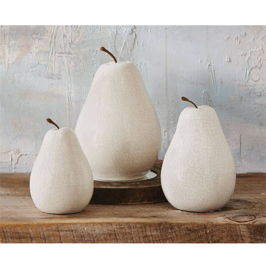 MUD PIE CERAMIC PEARS