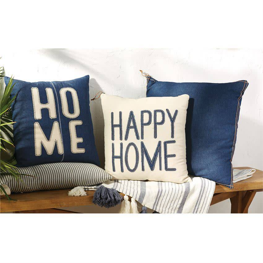 MUD PIE HOME DENIM PILLOWS