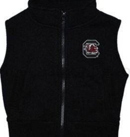 TODDLER POLAR FLEECE VEST- COLLEGIATE