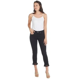 MUD PIE HARRISON TASSEL JEANS- BLACK