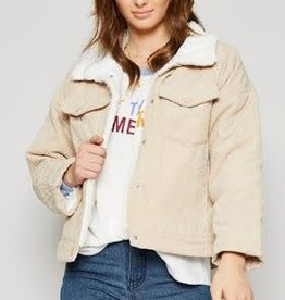 SADIE & SAGE PUB NIGHT CORD JACKET