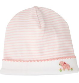 MUD PIE FRENCH KNOTPINK  LAMB CAP