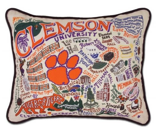 CATSTUDIO COLLEGIATE PILLOW CLEMSON