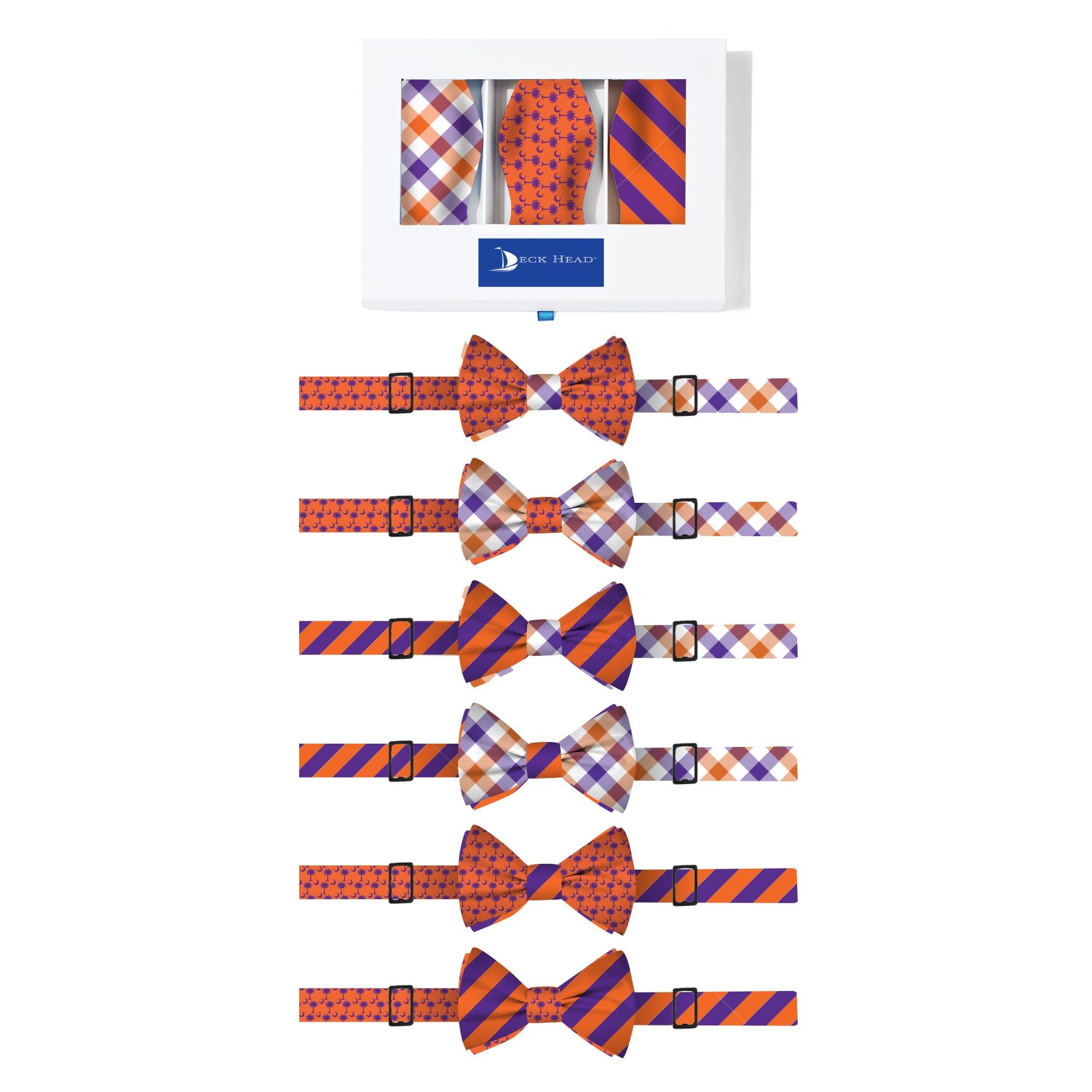 DECK HEAD INTERCHANGEABLE BOW TIES