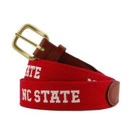SMATHERS & BRANSON COLLEGIATE BELT- NC STATE