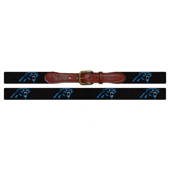 SMATHERS & BRANSON NFL BELT-CAROLINA PANTHERS