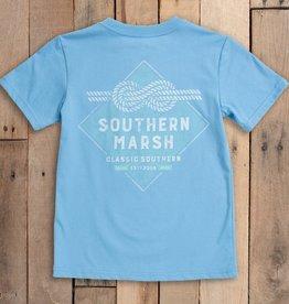 SOUTHERN MARSH YOUTH BRANDING T-SHIRT- NAUTICAL KNOT