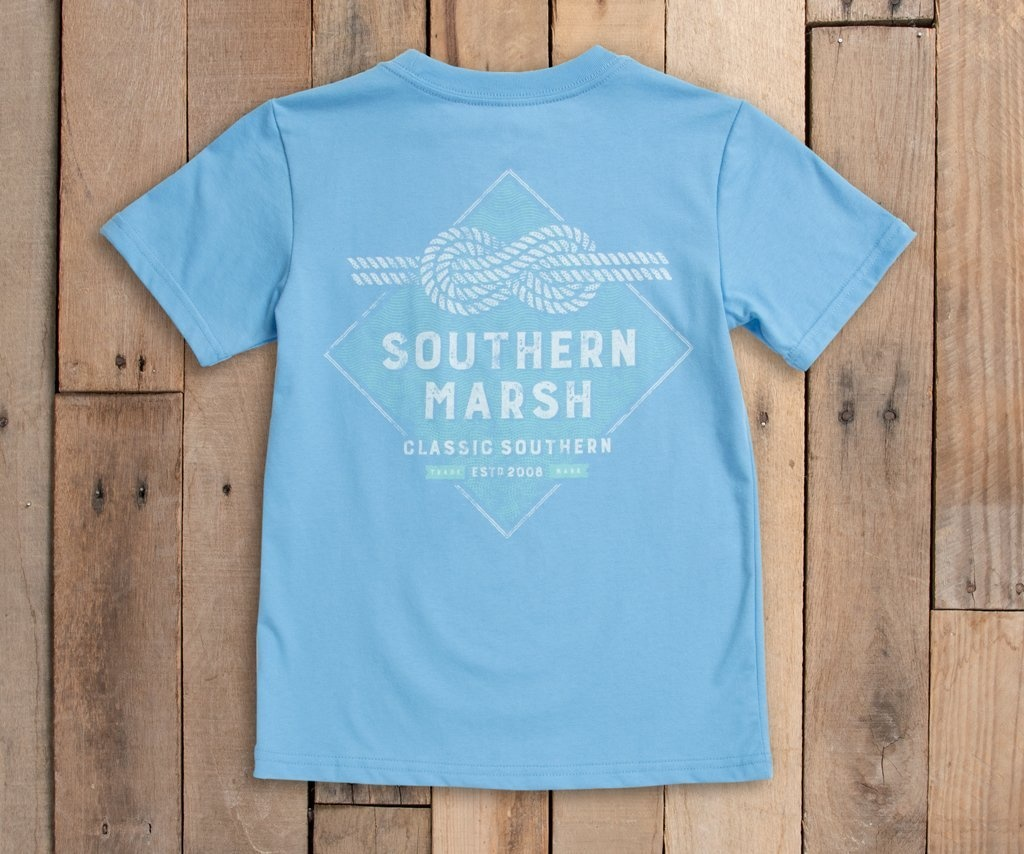 SOUTHERN MARSH YOUTH BRANDING T-SHIRT- NAUTICAL KNOT