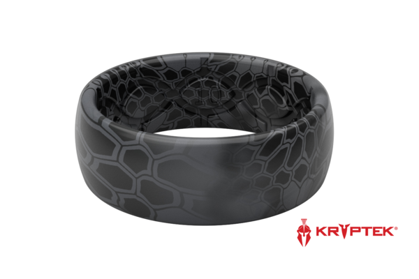 GROOVE LIFE MEN'S KRYPTEK CAMO SILICONE RING