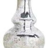 ASST SMALL MERCURY GLASS BUD VASE WITH ETCHING