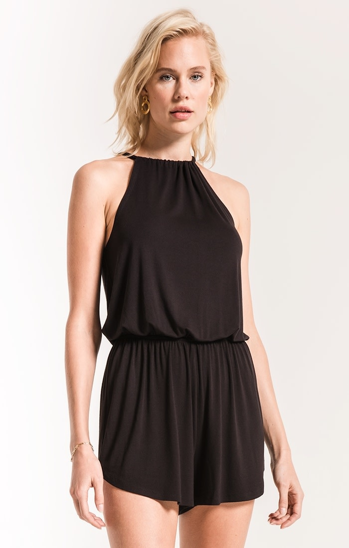 Z SUPPLY THE AMELIA HALTER ROMPER