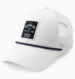 SOUTHERN TIDE DAYBREAK TRUCKER HAT - WHITE