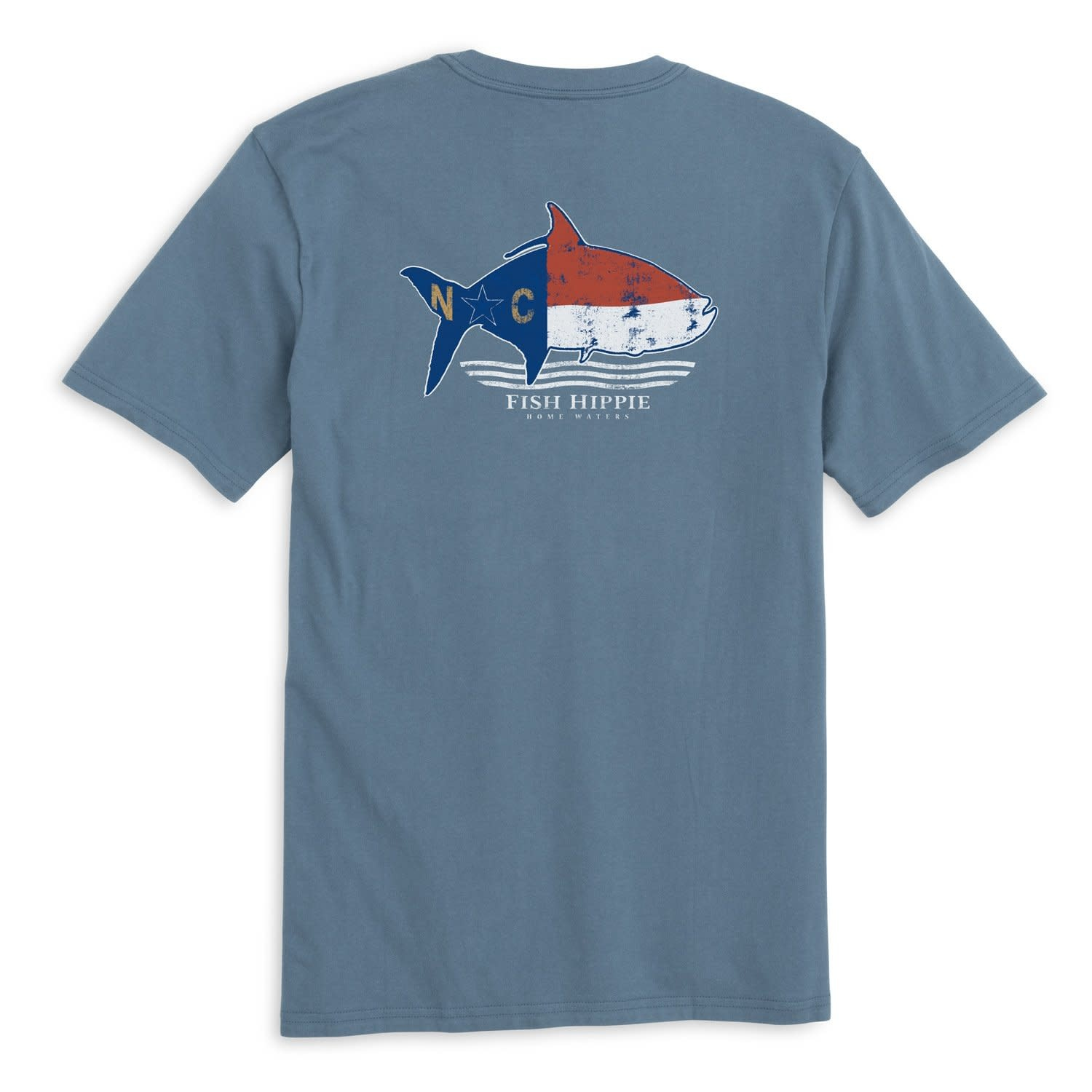 FISH HIPPIE NORTH CAROLINA STATE SHIRT