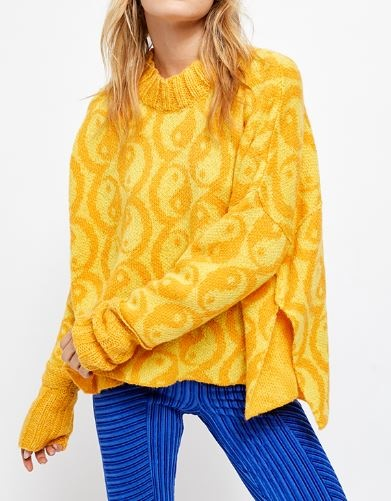 FREE PEOPLE YIN YANG SWEATER