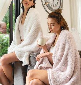 berber fleece cozy blanket