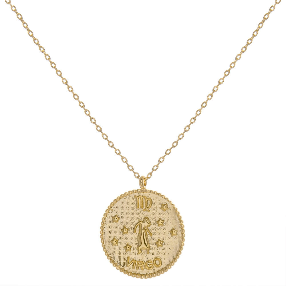 ZODIAC COIN NECKLACE