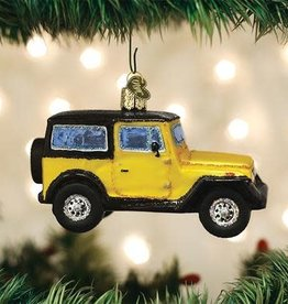 OLD WORLD CHRISTMAS jeepster ornament