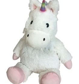 warmies warmies- white unicorn