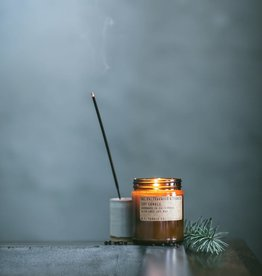 PF CANDLE CO teakwood & tobacco large candle