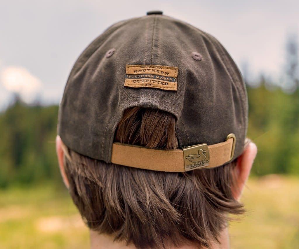 Vintage Waxed Hat Dk Brown Urbane South