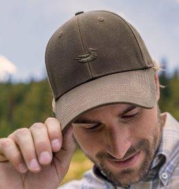 SOUTHERN MARSH vintage waxed hat- dk brown