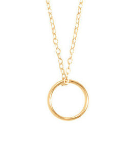 "ENEWTON 16"" NECKLACE GOLD- HALO GOLD CHARM"