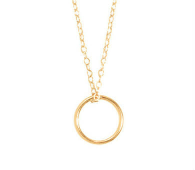"ENEWTON 16"" NECKLACE GOLD- HALO GOLD CHARM"
