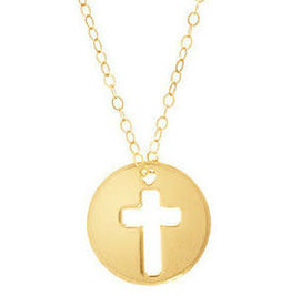 "ENEWTON 16"" NECKLACE GOLD- BLESSED CHARM"