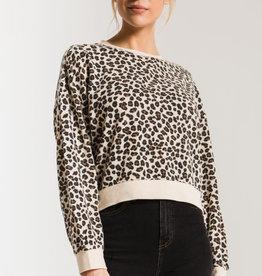 Z SUPPLY the multi leopard pullover