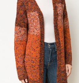 COLOR LAYER SWEATER CARDIGAN