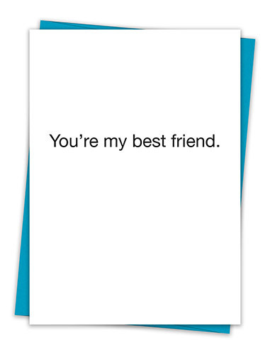 MY BEST FRIEND CARD