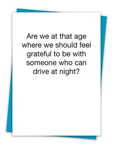 GRATEFUL DRIVE NIGHT CARD