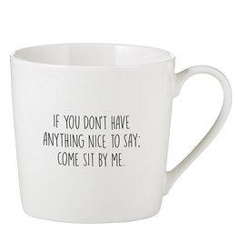 CAFE MUG- NICE TO SAY