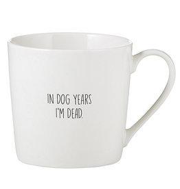 CAFE MUG- MORE DOG YEARS