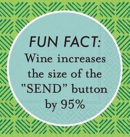 beverage napkin- fun fact