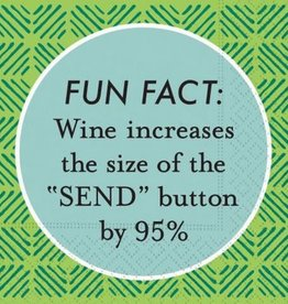 DESIGN DESIGN beverage napkin- fun fact