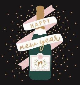 beverage napkin- Happy New Year cheers