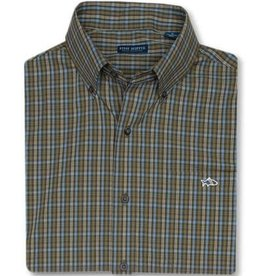 FISH HIPPIE PARKS GROVE CHECK BUTTON DOWN