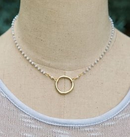 bliss necklace- circle