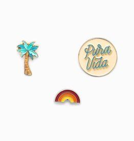 PURAVIDA pin set 3 pack