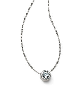 BRIGHTON ILLUMINA MINI SOLITAIRE NECKLACE