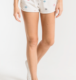 Z SUPPLY THE DISTRESSED STAR SHORT