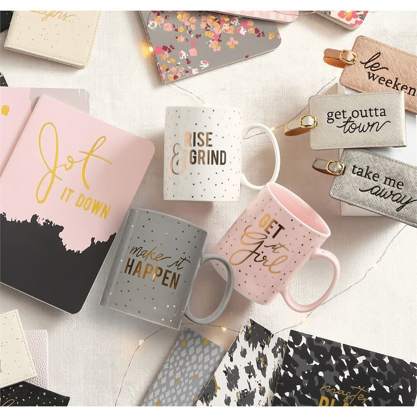MUD PIE SENTIMENT MUGS